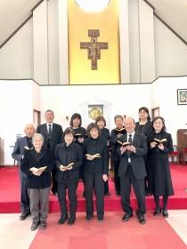東長崎教会聖歌隊の皆さん