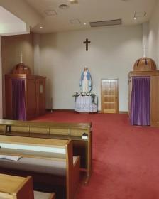 浦上教会の告解部屋
